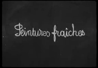 Peintures fraîches - 1960