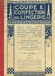 Coupe et confection de lingerie