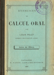 Exercices de calcul oral